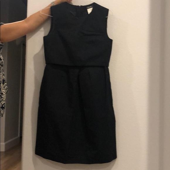 $90 NWT HAILEY LOGAN Black Dusty Blue Party Dress 7